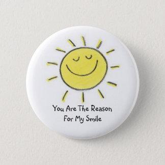 My Sunshine Pinback Button
