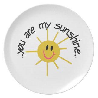 My Sunshine Plate