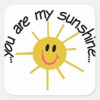 My Sunshine Square Sticker