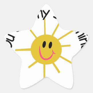 My Sunshine Star Sticker