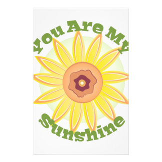 My Sunshine Stationery
