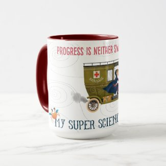 My Super Science Coffee Mug - Progress
