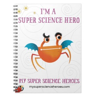 My Super Science Notebook - Orange minion