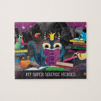 My Super Science puzzle - Minions