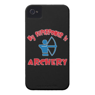 My Superpower is Archery Case-Mate iPhone 4 Case