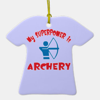 My Superpower is Archery Christmas Tree Ornament