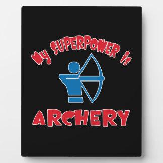 My Superpower is Archery Plaque