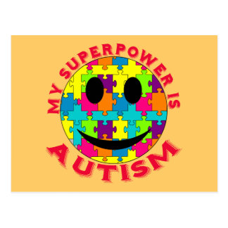 My Superpower is Autism! Post Card