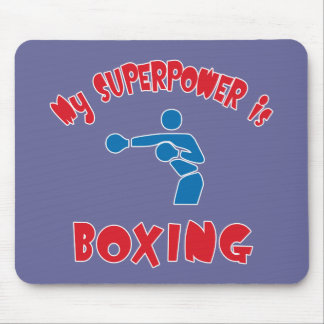 My Superpower is Boxing Mouse Pad
