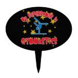 My Superpower is Gymnastics Cake Topper