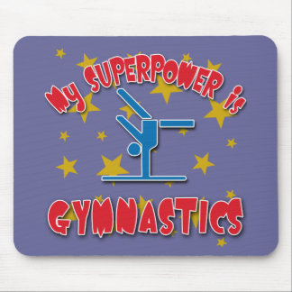 My Superpower is Gymnastics Mouse Pad