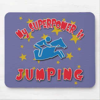 My Superpower is Horse Jumping Mouse Pad