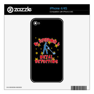 My Superpower is Metal Detecting Decals For The iPhone 4S