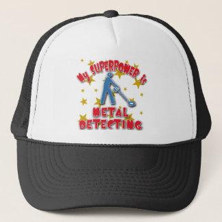 My Superpower is Metal Detecting Trucker Hat