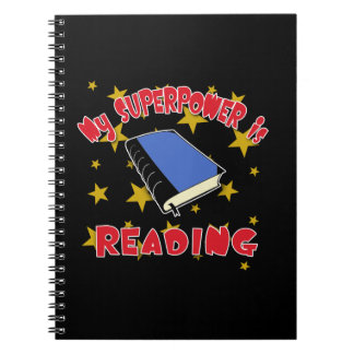 My Superpower is Reading Notebooks