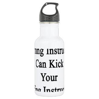 My Surfing Instructor Can Kick Your Surfing Instru 18oz Water Bottle