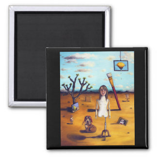 My Surreal Life 2 Inch Square Magnet