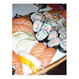My Sushi Dream Postcard
