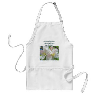 My Sweet Baby Loves Organic Apple Sauce by Mom Adult Apron