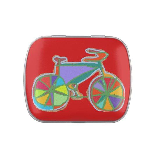 my sweet bike candy tins