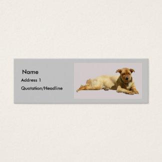 """My Sweet Dog"" Mini Business Card"