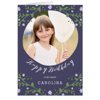 My Sweet Girl | Personalized Photo Birthday Card