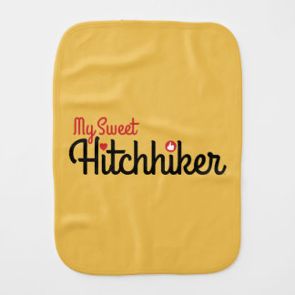"""My Sweet Hitchhiker"" Burp Cloth"