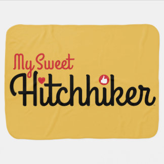 """My Sweet Hitchhiker"" Stroller-Carseat Blanket"