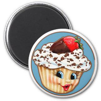 My Sweet Little Cupcake 2 Inch Round Magnet