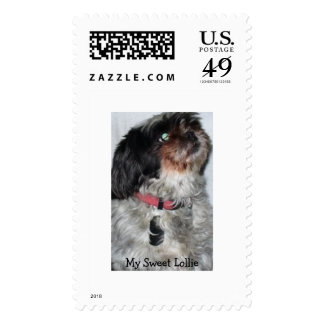 My Sweet Lollie Postage Stamps