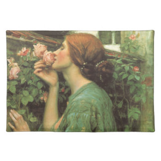 My Sweet Rose, or Soul of the Rose by Waterhouse Cloth Placemat
