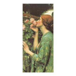 My Sweet Rose, or Soul of the Rose by Waterhouse Custom Rack Card