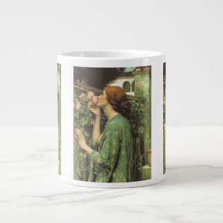 My Sweet Rose, or Soul of the Rose by Waterhouse Large Coffee Mug
