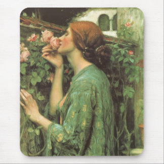 My Sweet Rose, or Soul of the Rose by Waterhouse Mouse Pad