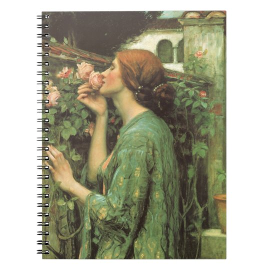 My Sweet Rose, or Soul of the Rose by Waterhouse Notebook