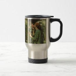My Sweet Rose, or Soul of the Rose by Waterhouse Travel Mug