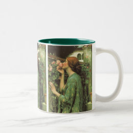 My Sweet Rose, or Soul of the Rose by Waterhouse Two-Tone Coffee Mug
