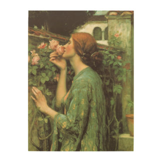 My Sweet Rose, or Soul of the Rose by Waterhouse Wood Wall Decor