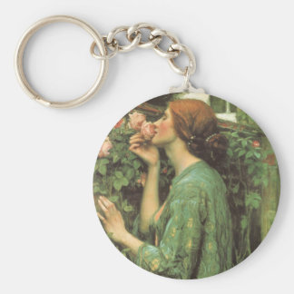 My Sweet Rose (Soul of the Rose) by Waterhouse Keychain