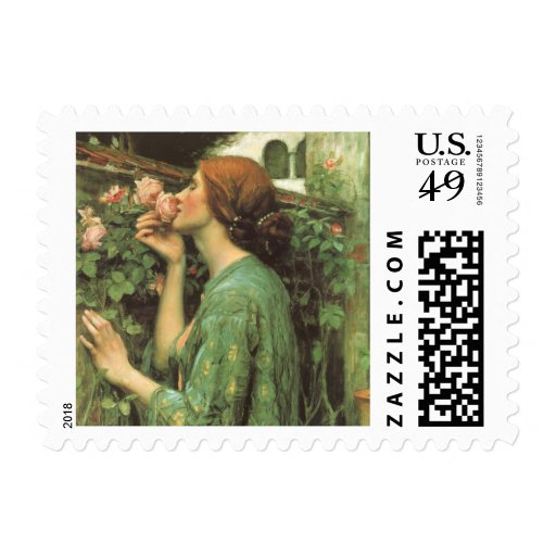 My Sweet Rose (Soul of the Rose) by Waterhouse Stamp