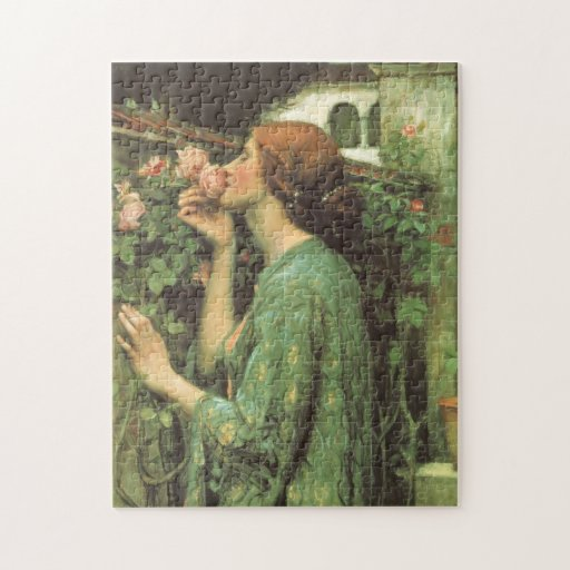 My Sweet Rose (Soul of the Rose) by Waterhouse Jigsaw Puzzles