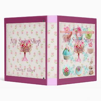 My Sweet Shop Book / binder