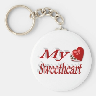 My Sweetheart 3D Valentine's Day Key Chains,