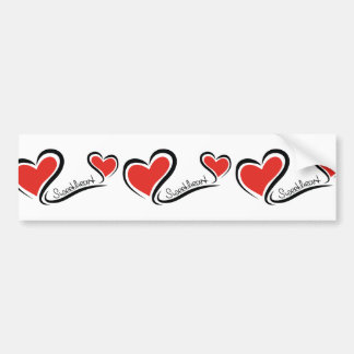 My Sweetheart Valentine Bumper Sticker