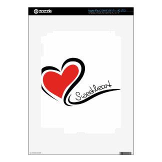 My Sweetheart Valentine iPad 3 Decal