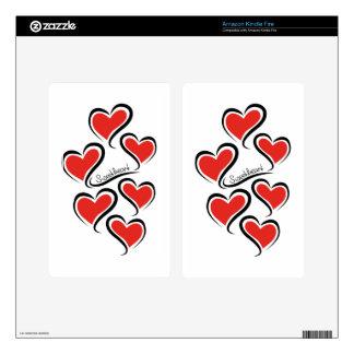 My Sweetheart Valentine Kindle Fire Skin