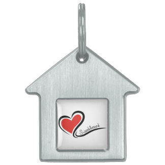 My Sweetheart Valentine Pet Tag