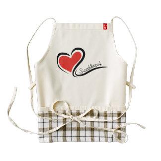 My Sweetheart Valentine Zazzle HEART Apron