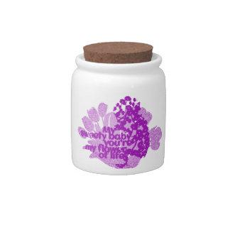 My sweety baby Candy Jar
