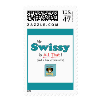 My Swissy is All That! Postage